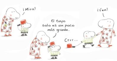"""Página interior """"El Cazo De Lorenzo"""""""