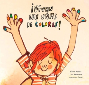 portada uñas de colores