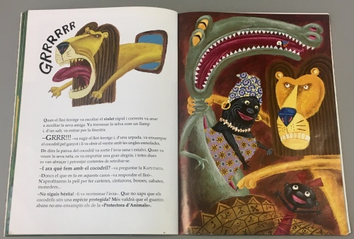 contenido 6 kaperucita león