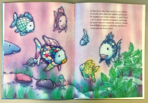contenido 5 pez arcoiris