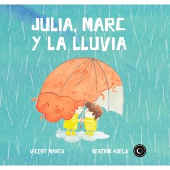 portada julia marc y la lluvia